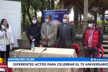 RECTORADO ALISTA ACTIVIDADES POR LOS 75 AÑOS DE LA UAJMS