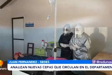 ANALIZAN NUEVAS CEPAS QUE CIRCULAN EN EL DEPARTAMENTO