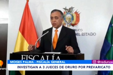 INVESTIGAN A TRES JUECES DE ORURO POR PREVARICATO