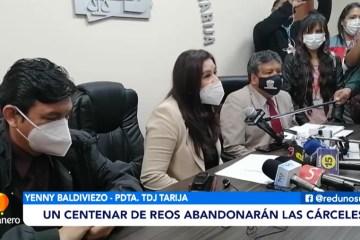 UN CENTENAR DE REOS ABANDONARÁN LAS CÁRCELES
