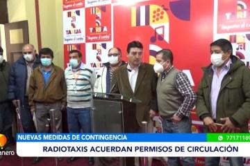 RADIOTAXIS ACUERDAN PERMISOS DE CIRCULACIÓN