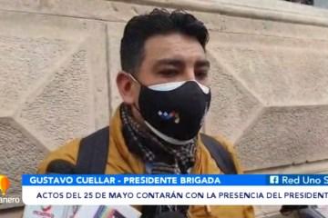 ACTOS DEL 25 DE MAYO CONTARÁN CON LA PRESENCIA DEL PRESIDENTE