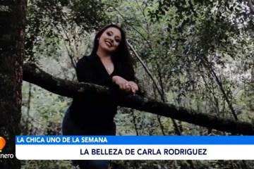 CHICA UNO DE LA SEMANA: CARLA RODRÍGUEZ