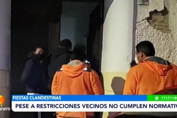 PESE A RESTRICCIONES VECINOS NO CUMPLEN NORMATIVAS