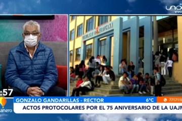 ACTOS PROTOCOLARES POR EL 75 ANIVERSARIO DE LA UAJMS