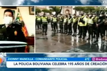 LA POLICÍA BOLIVIANA CELEBRA 195 AÑOS DE CREACIÓN