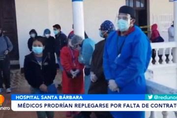 MÉDICOS PRODRÍAN REPLEGARSE POR FALTA DE CONTRATOS