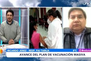 AVANCE DEL PLAN DE VACUNACIÓN MASIVA