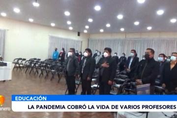 LA PANDEMIA COBRÓ LA VIDA DE VARIOS PROFESORES