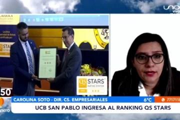 UCB SAN PABLO INGRESA AL RANKING QS STARS