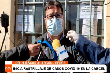 CONFIRMARON DOS CASOS POSITIVOS DE COVID EN EL PENAL DE SANTO DOMINGO