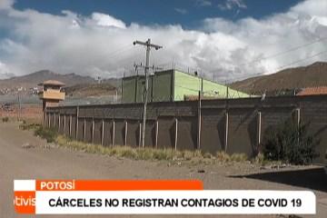 CÁRCELES NO REGISTRAN CONTAGIOS DE COVID 19