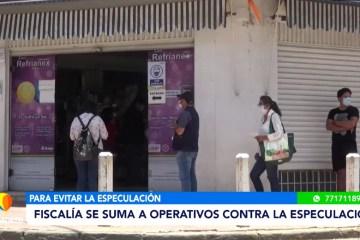 FISCALÍA SE SUMA A OPERATIVOS CONTRA LA ESPECULACIÓN