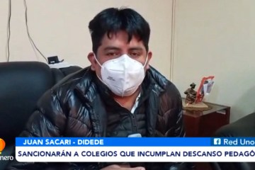 SANCIONARÁN A COLEGIOS QUE INCUMPLAN DESCANSO PEDAGÓGICO