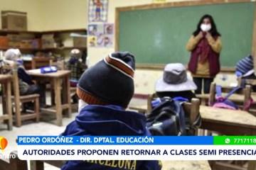 LA REALIDAD SOBRE EL RETORNO A CLASES PRESENCIALES