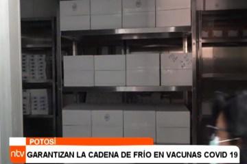 GARANTIZAN LA CADENA DE FRÍO EN VACUNAS COVID 19