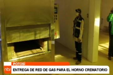 ENTREGA DE RED DE GAS PARA EL HORNO CREMATORIO