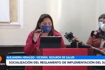 SOCIALIZACIÓN DEL REGLAMENTO DE IMPLEMENTACIÓN DEL SUS