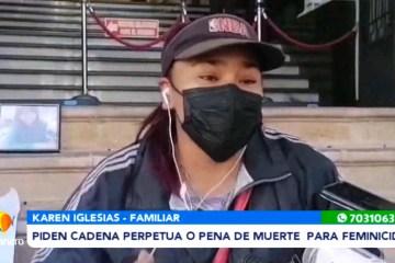 PIEN CADENA PERPETUA O PENA DE MUERTE PARA FEMINICIDAS