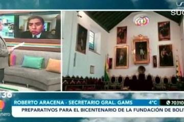 PREPARATIVOS PARA EL BICENTENARIO DE LA FUNDACIÓN DE BOLIVIA