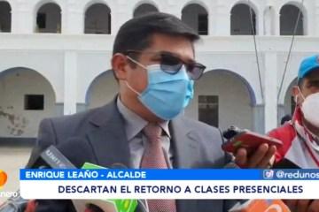 DESCARTAN EL RETORNO A CLASES PRESENCIALES