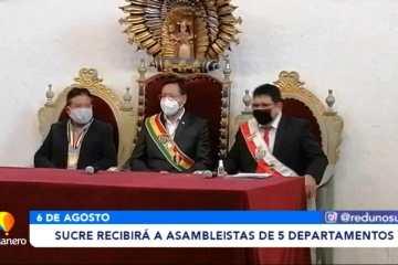 SUCRE RECIBIRÁ A ASAMBLEÍSTAS DE 5 DEPARTAMENTOS