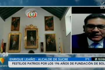 FESTEJOS PATRIOS POR LOS 196 AÑOS DE LA FUNDACIÓN DE BOLIVIA