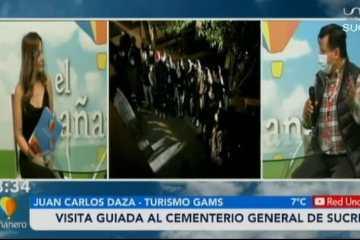 VISITA GUIADA AL CEMENTERIO GENERAL DE SUCRE