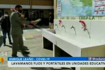 ALCALDÍA ENTREGO LAVAMANOS FIJOS Y PORTÁTILES A LAS UNIDADES EDUCATIVAS