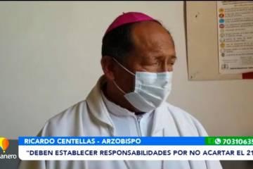 """""""DEBEN ESTABLECER RESPONSABILIDAD POR NO ACATAR EL 21F"""""""