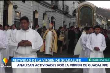 ANALIZAN ACTIVIDADES POR LA VIRGEN DE GUADALUPE