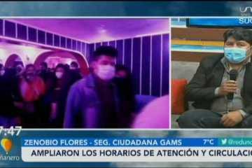 AMPLIARON LOS HORARIOS DE ATENCIÓN Y CIRCULACIÓN EN SUCRE