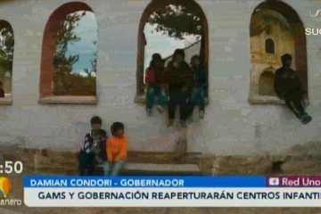 GAMS Y GOBERNACIÓN DE SUCRE REABRIRÁN CENTROS INFANTILES