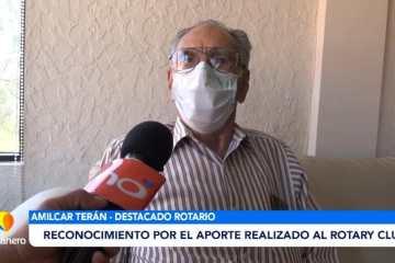 RECONOCIMIENTO POR EL APORTE REALIZADO AL ROTARY CLUB