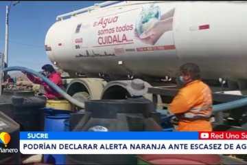 NO DESCARTAN DECLARAR ALERTA NARANJA ANTES LA ESCASEZ DE AGUA