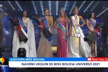 NAHEMI UEQUIN ES MISS BOLIVIA UNIVERSO 2021