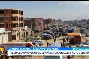 """RECHAZAN PROYECTO DE LEY PARA NACIONALIZAR AUTOS """"CHUTOS"""""""