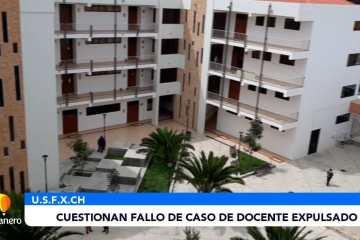CUESTIONAN FALLO DE CASO DE DOCENTE EXPULSADO