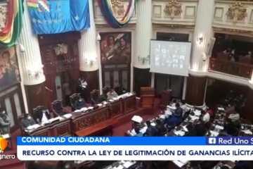 RECURSO CONTRA LA LEY DE LEGITIMACIÓN DE GANANCIAS ILÍCITAS