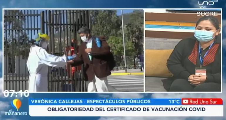 OBLIGATORIEDAD DEL CERTIFICADO DE VACUNACIÓN COVID