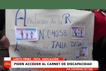 PERSONAS CON TALLA BAJA PIDEN ACCEDER AL CARNET DE DISCAPACITADO