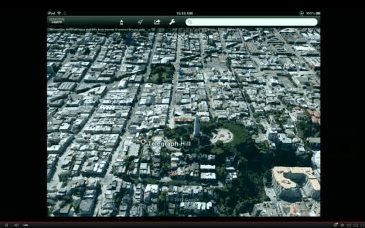 La nueva tecnología 3D de Google aumenta el nivel de precisión de sus mapas.