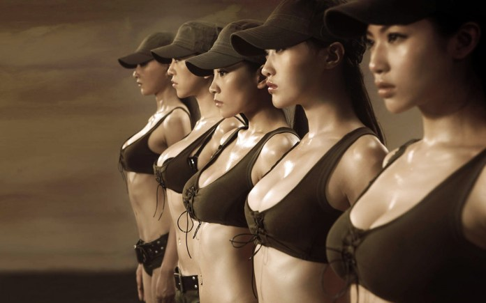 sexy army 6