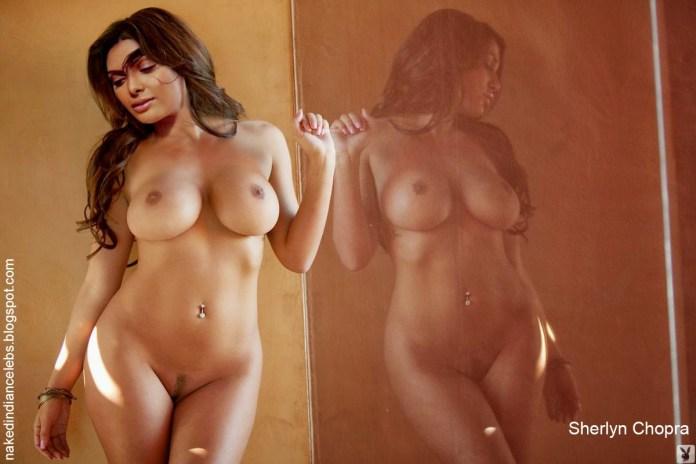 Sherlyn Chopra New Playboy Nude Photoshoot 2