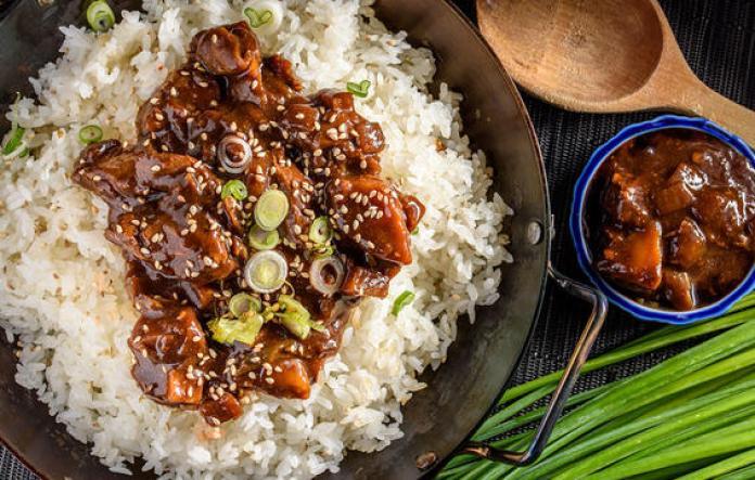 white rice chicken dinner 1000