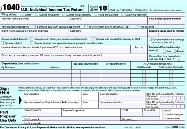 The Redesigned Form 1040 | REDW