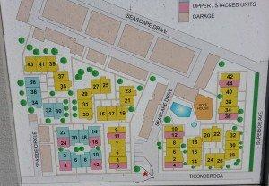 Map of Seawind Condos in Newport Beach