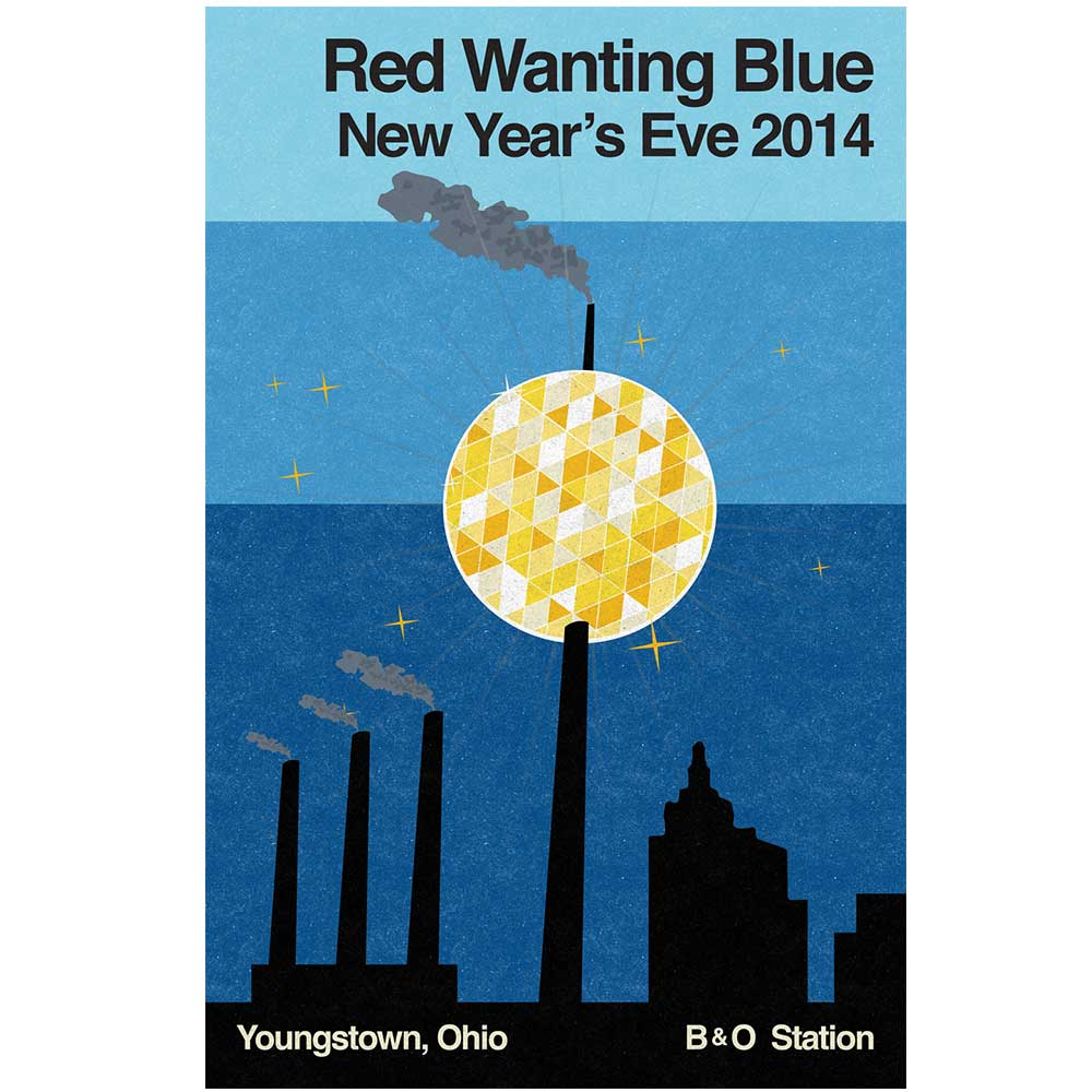 Red Wanting Blue NYE 2014