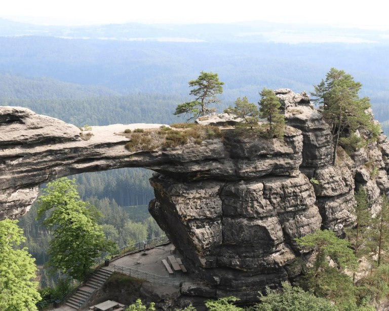 Bohemian Switzerland in the Czech Republic.