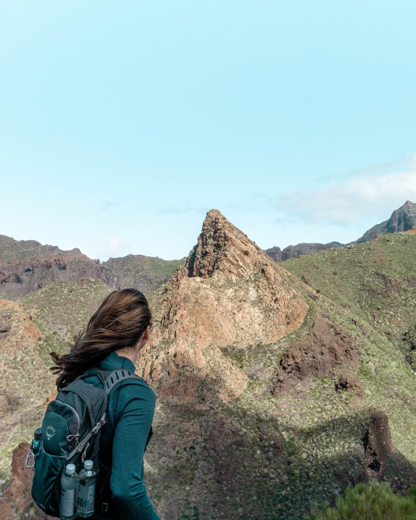Great views from hiking in Tenerife.
